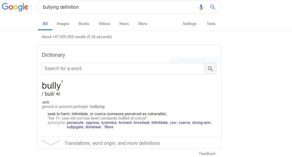 bullying - Google