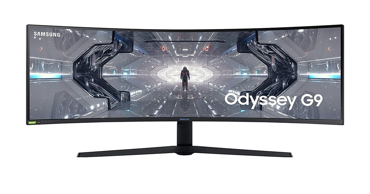 We Tested the Samsung Odyssey G9 a big monitor