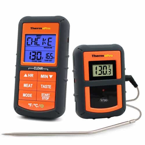 ThermoPro TP-07 Wireless Remote Digital Cooking Food Meat Thermometer for Grilling