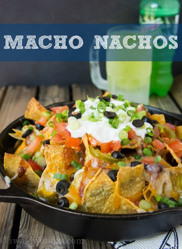 macho nachos recipe