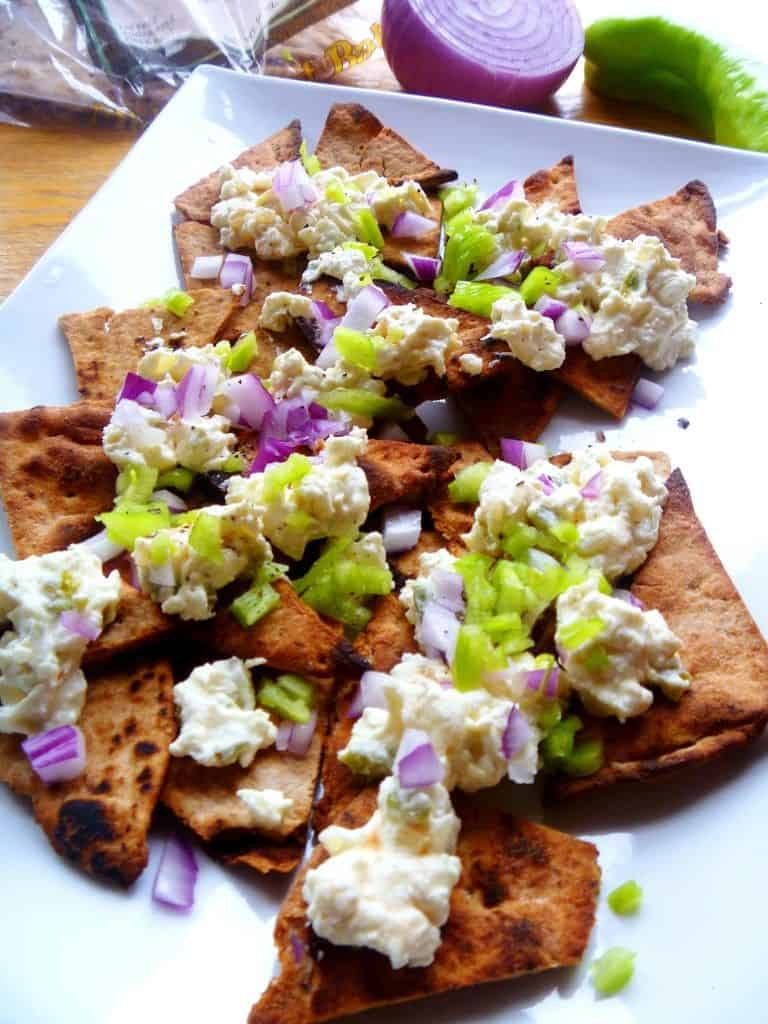 greek feta nachos