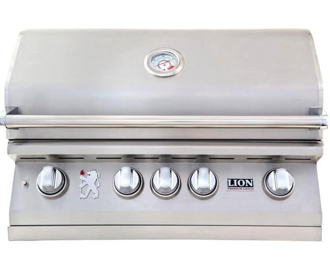 lion premium natural gas grill