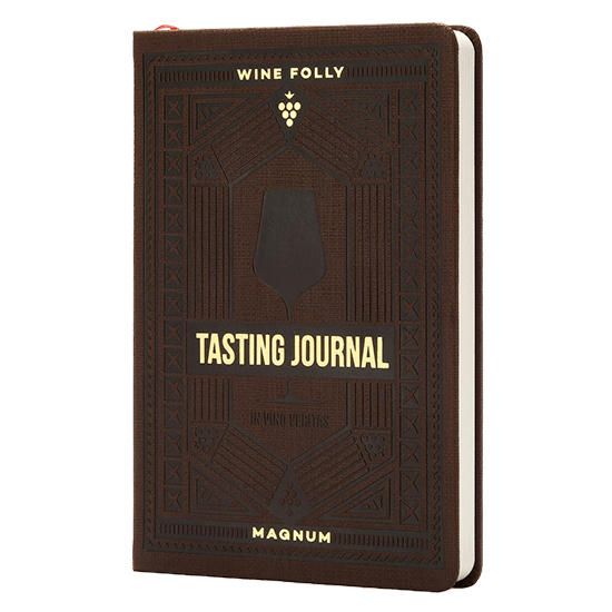 Wine Folly - Tasting Journal Walnut 'Limited Edition'
