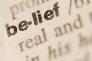 Working Hard On Core Beliefs
