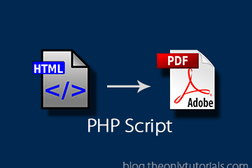 HTML form to PDF file using PHP and MPDF!