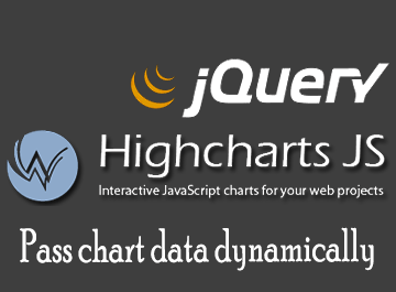 Highcharts pass data dynamically with jquery theonlytutorials pass dynamic data ccuart Images