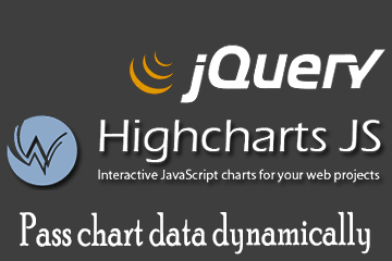 Highcharts – Pass data dynamically with jQuery!