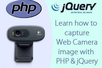 Capture Webcam Image with PHP and jQuery!