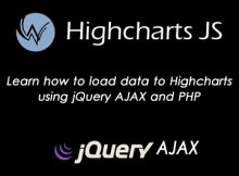 highcharts-ajax-php