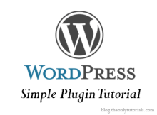 wordpress-simple-plugin