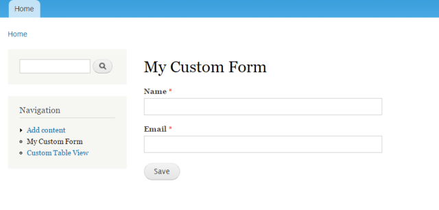 custom-form