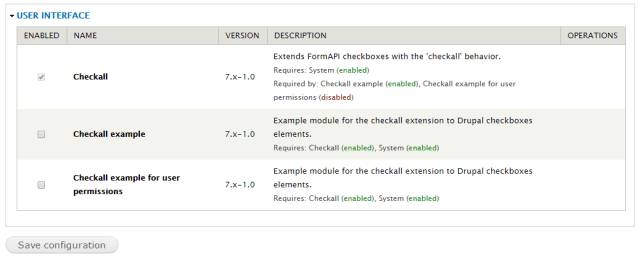 checkall-modules