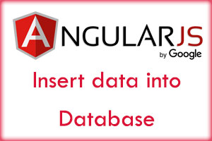 Insert data into database using AngularJS and PHP!
