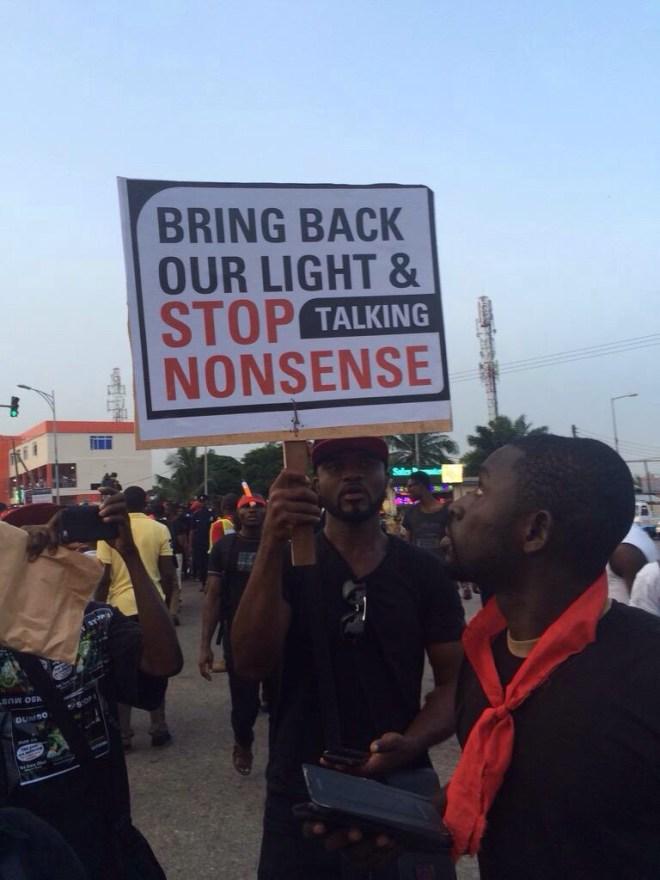 #DumsorMustStop sign - TheOnlyWayIsGhana