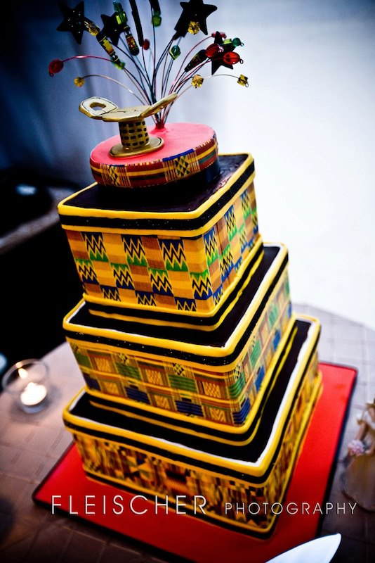 Sikadwa meets kente - the only ways is ghana