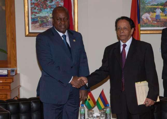 Mahama and president- theonlywayisghana