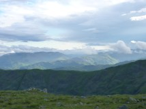 at the top of Dove Crag