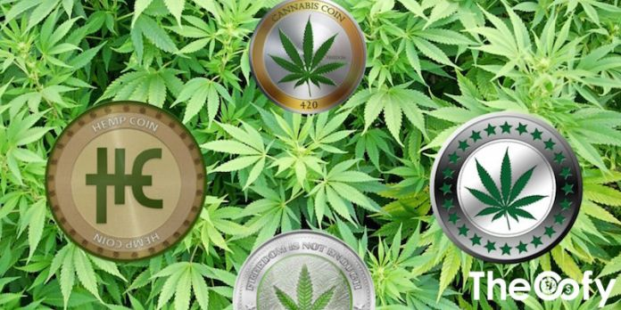 weed cryptocurrency coins