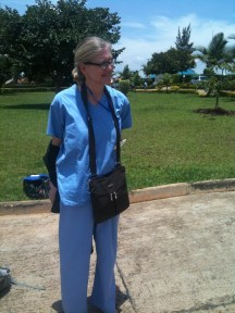 Midwife-mentor at Kibagabaga hospital