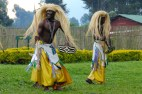 Traditional Rwandan dancers