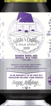 Barrel Aged Santa's Cookies & Milk Stout (2019)