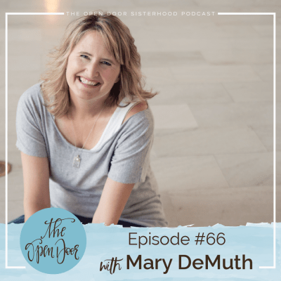 Sister Interview:  Mary DeMuth