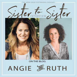 A Special Kind of Friendship by Angie Ryg & Ruth Bell Olsson | Sister-to-Sister Interview