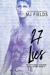 #BookTour #Giveaway 27 Lies by MJ Fields