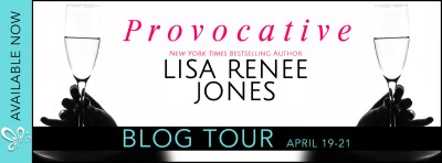 #BlogTour #Giveaway PROVOCATIVE by Lisa Renee Jones