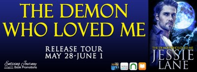 #NewRelease #Giveaway The Demon Who Loved Me by Jessie Lane