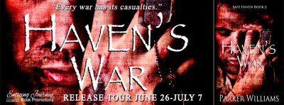 #NewRelease #Giveaway Haven's War by Parker Williams