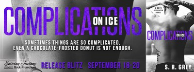 #NewRelease #Giveaway Complications on Ice by SR Grey