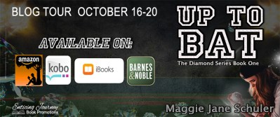 #BlogTour #Giveaway Up to Bat by Maggie Jane Schuler