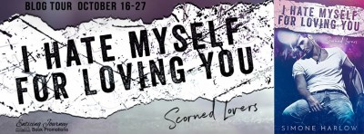 #BlogTour I Hate Myself for Loving You by Simone Harlow
