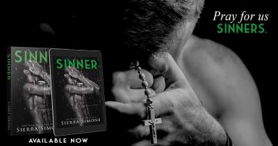 #BlogTour Sinner by Sierra Simone
