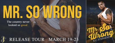 #BlogTour Mr. So Wrong by R.C. Stephens