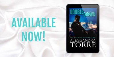 #NewRelease DOUBLE DOWN by Alessandra Torre