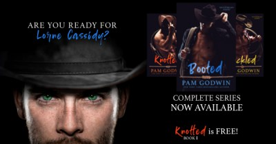#NewRelease BOOTED by Pam Godwin