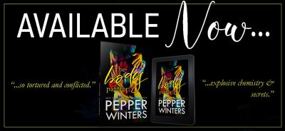 #NewRelease The Body Painter by Pepper Winters