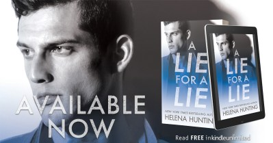 #NewRelease A Lie for a Lie by Helena Hunting