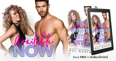 #BlogTour The Billionaire's Forbidden Little Sister by Max Monroe