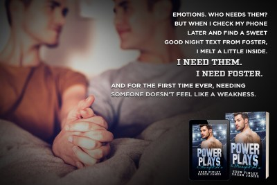 #BlogTour POWER PLAYS & STRAIGHT A'S by Eden Finley & Saxon James