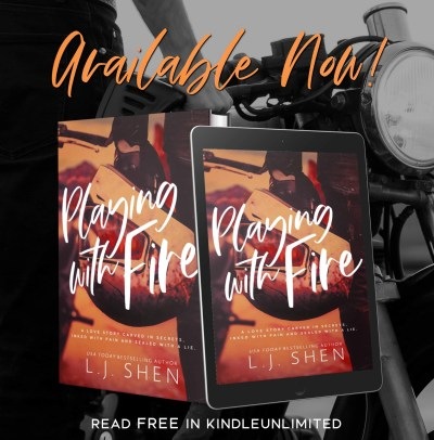 #NewRelease Playing With Fire by L.J. Shen