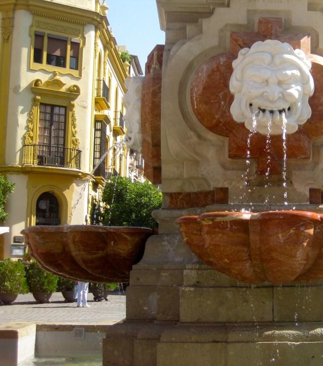 Sevilla Gargoyle Fountain