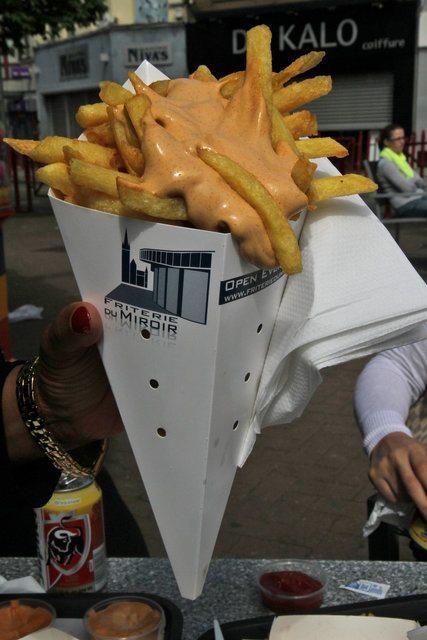 belgian pomme frites