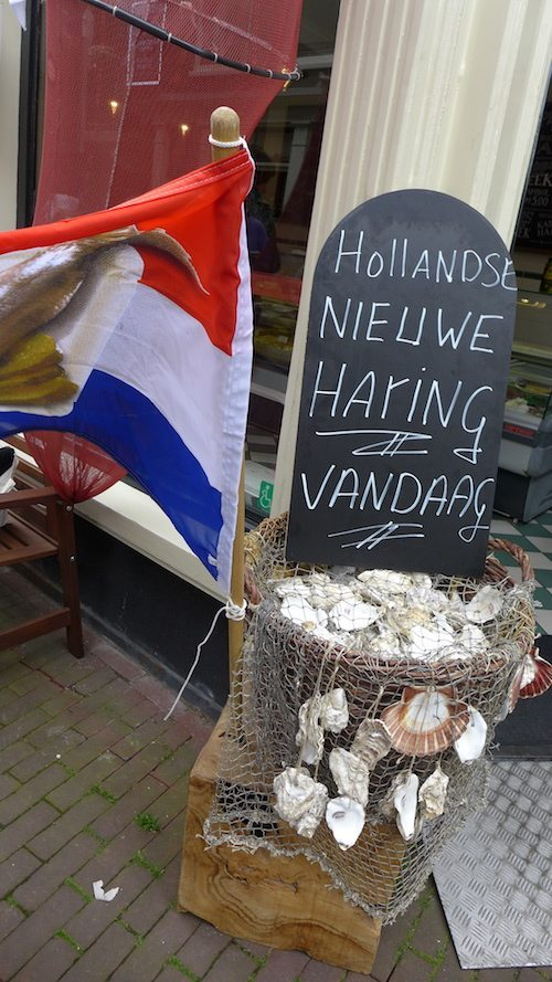 Herring Day celebration during Eating Amsterdam Dutch food tour
