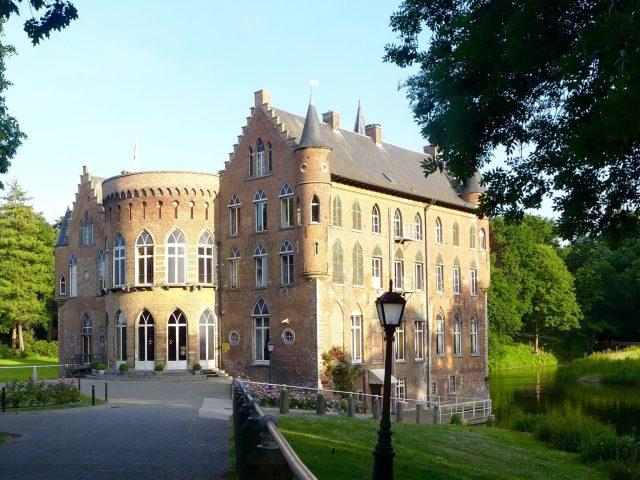 Castle in Bazel Belgium
