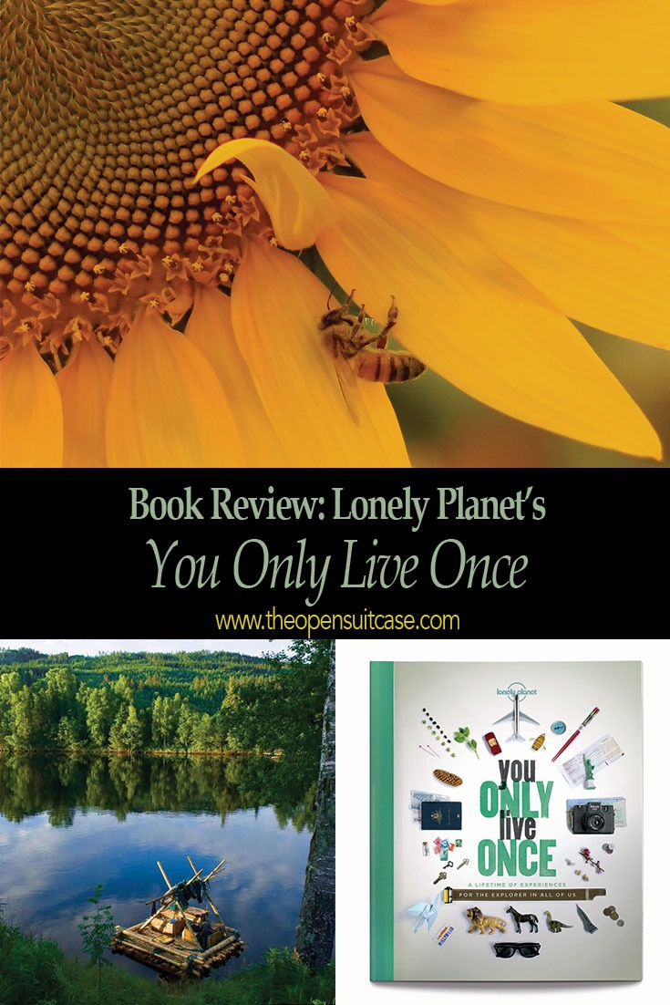 """Lonely Planet Book Review: """"You Only Live Once: A Lifetime of Experiences for the Explorer in All of Us"""""""