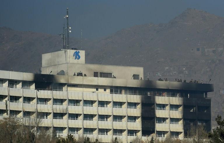 continental hotel Afghanistan_21 Jan_afp