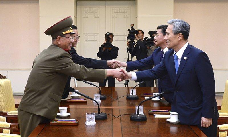 north-south korea-AP